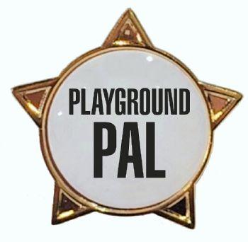 PLAYGROUND PAL star badge